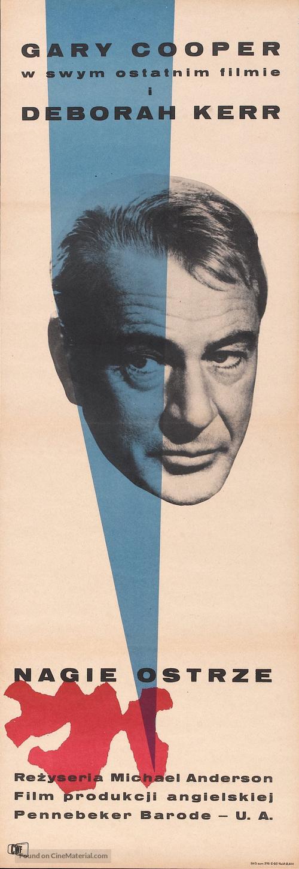 The Naked Edge - Polish Movie Poster