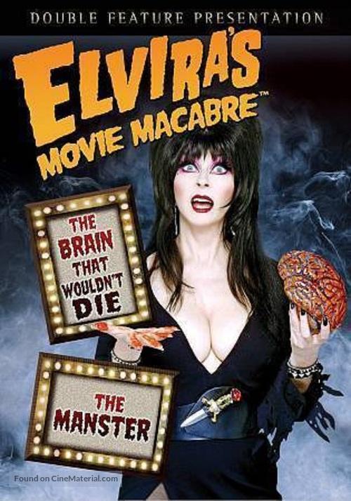 """Elvira's Movie Macabre"" - DVD movie cover"
