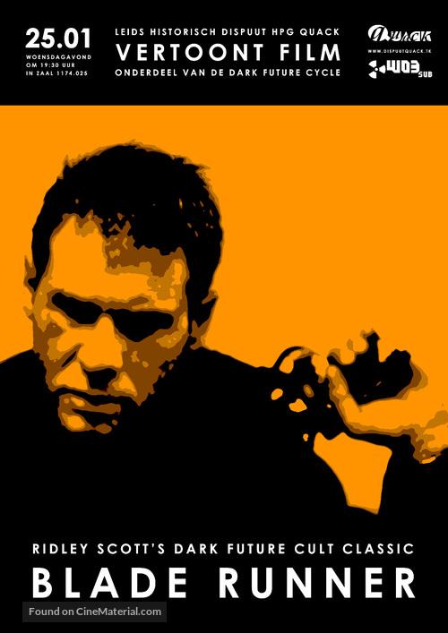 Blade Runner - Dutch Movie Poster