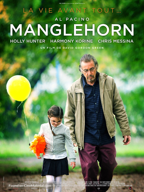 Manglehorn - French Movie Poster