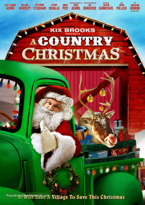 A Country Christmas - DVD movie cover