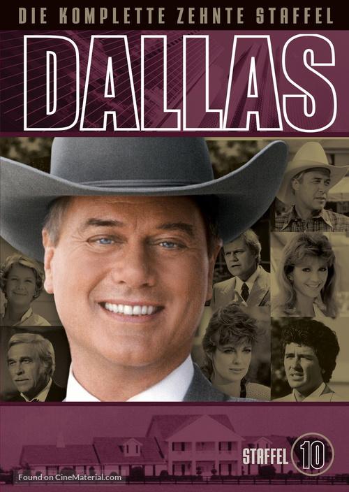"""Dallas"" - German DVD movie cover"
