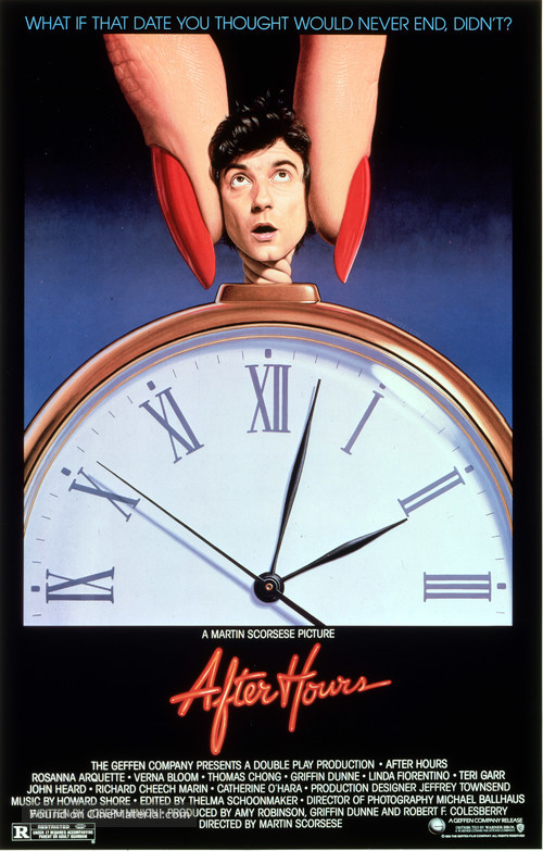 After Hours - Movie Poster