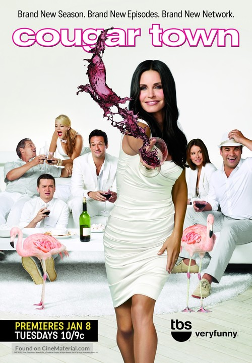 """""""Cougar Town"""" - Movie Poster"""