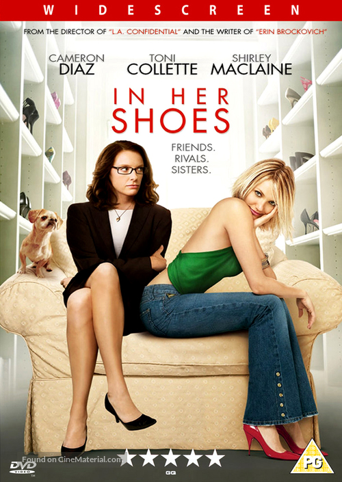 In Her Shoes - British DVD movie cover