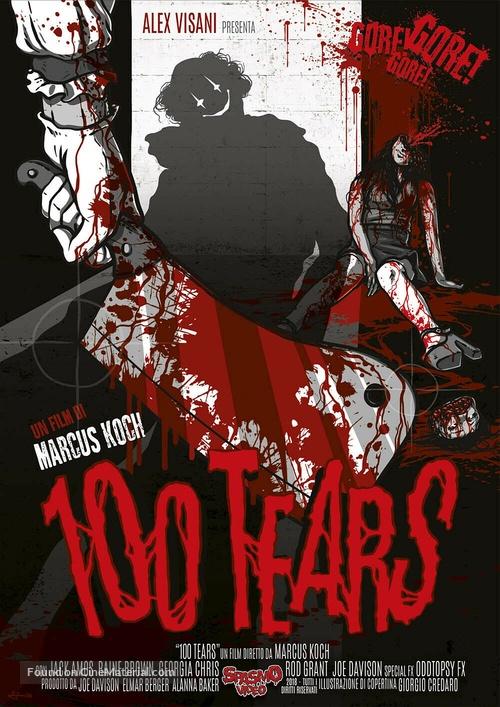100 Tears - Italian DVD movie cover