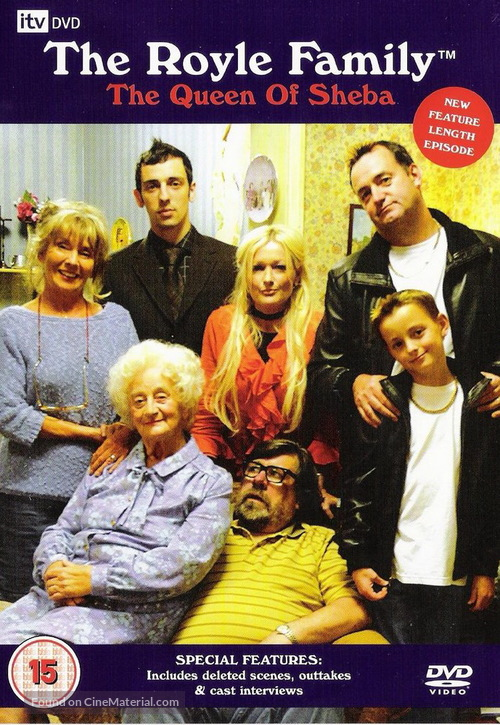 """The Royle Family"" - British DVD movie cover"