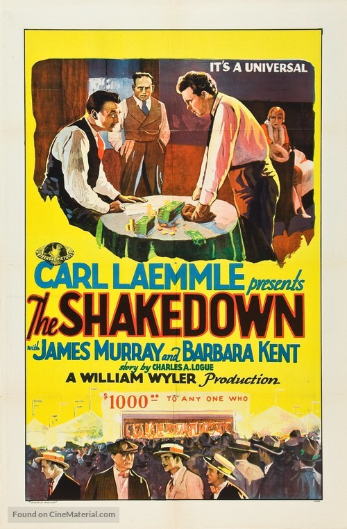 The Shakedown - Movie Poster