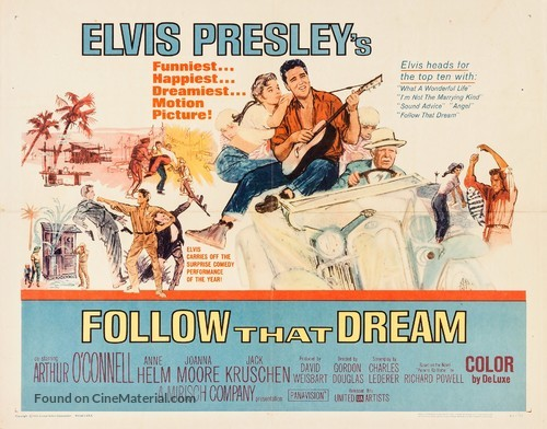 Follow That Dream - Movie Poster