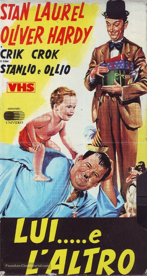 Twice Two - Italian VHS movie cover