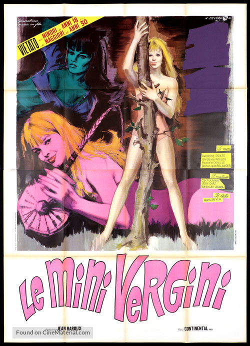 Salut les copines - Italian Movie Poster