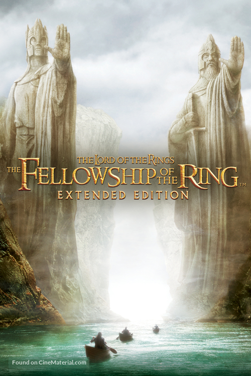 The Lord of the Rings: The Fellowship of the Ring - DVD cover