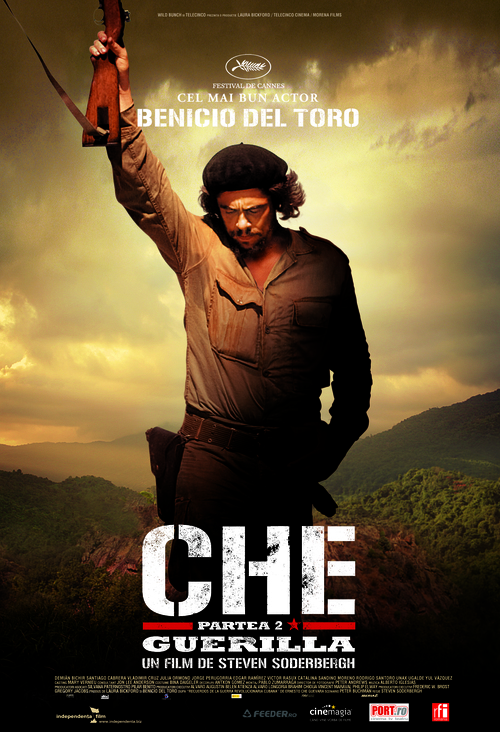 Che: Part Two - Romanian Movie Poster