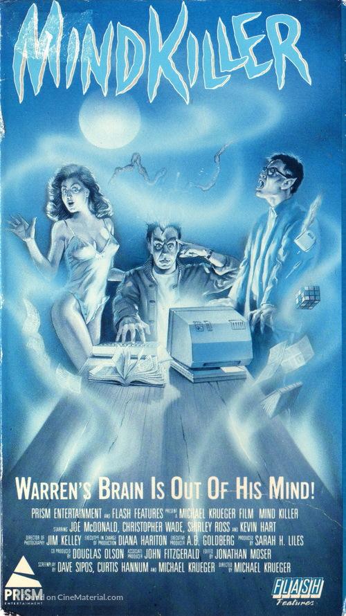 Mindkiller - VHS movie cover