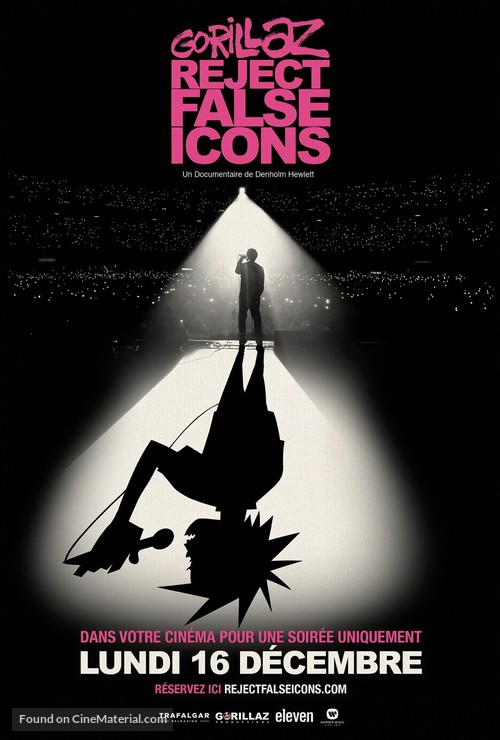 Gorillaz: Reject False Icons - French Movie Poster