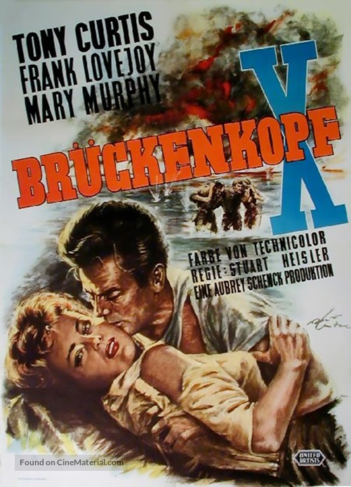 Beachhead - German Movie Poster