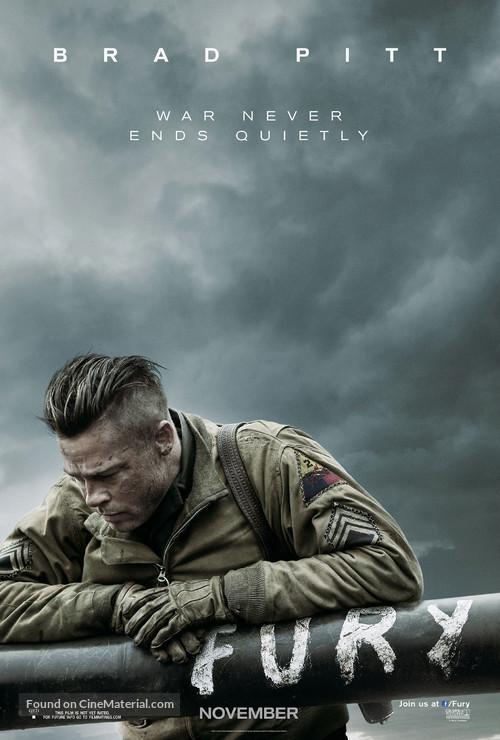 Fury - Movie Poster