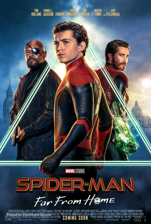 Spider-Man: Far From Home - International Movie Poster