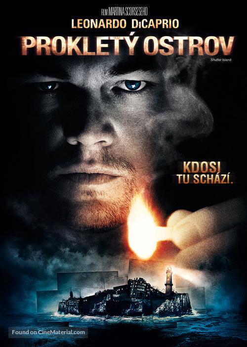Shutter Island - Czech DVD movie cover