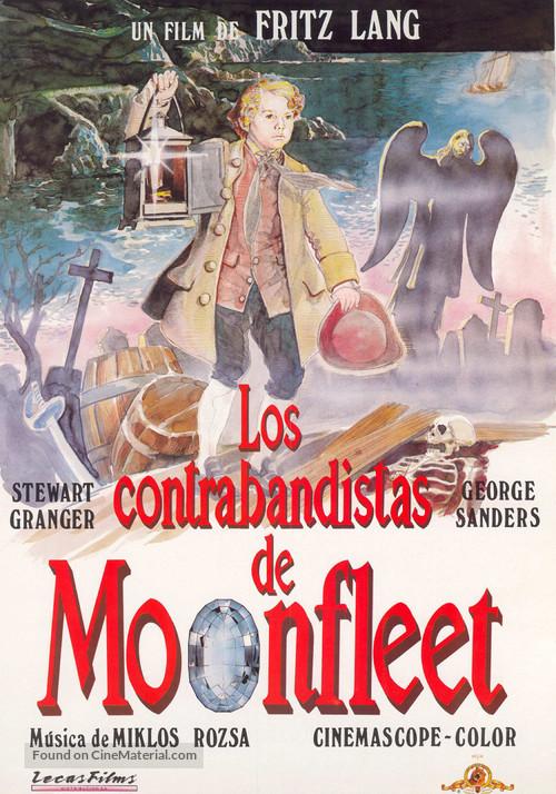 Moonfleet - Spanish VHS movie cover
