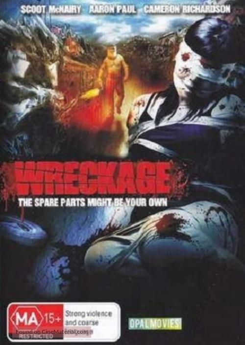 Wreckage - Australian DVD movie cover