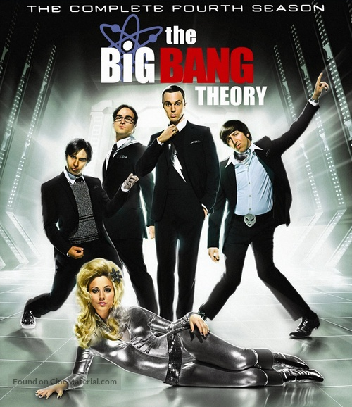 """The Big Bang Theory"" - Blu-Ray movie cover"