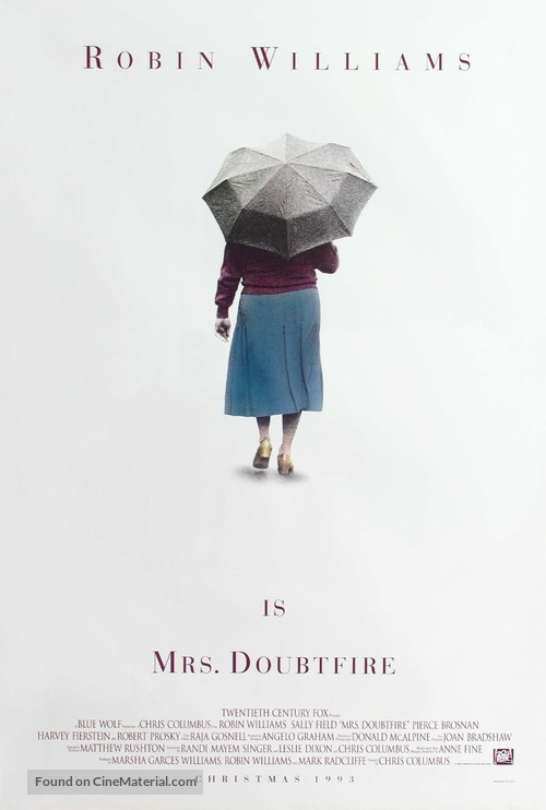 Mrs. Doubtfire - Movie Poster