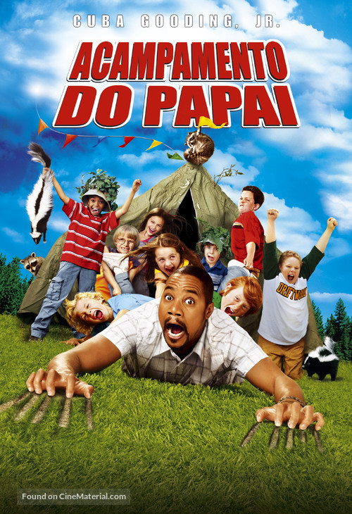 Daddy Day Camp - Brazilian Movie Poster