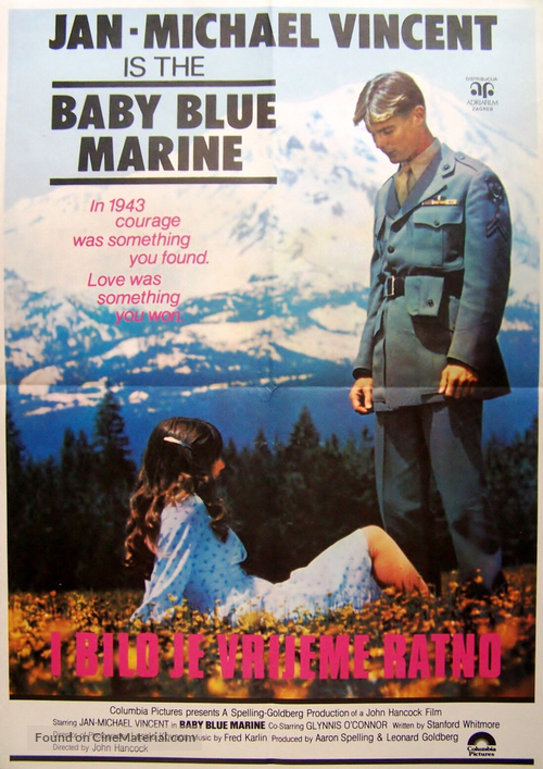 Baby Blue Marine - Yugoslav Movie Poster