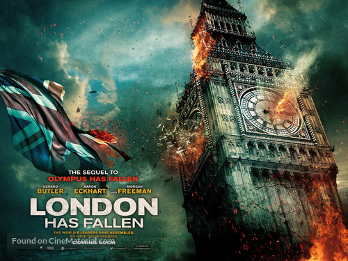 London Has Fallen - British Movie Poster