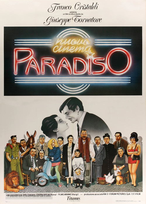 Nuovo cinema Paradiso movie poster