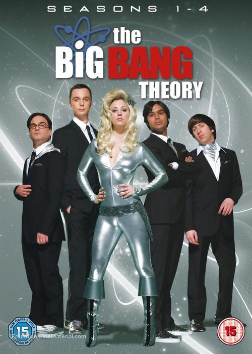 """""""The Big Bang Theory"""" - British DVD cover"""