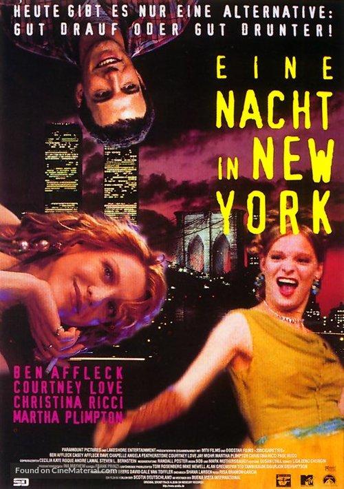 200 Cigarettes - German Movie Poster