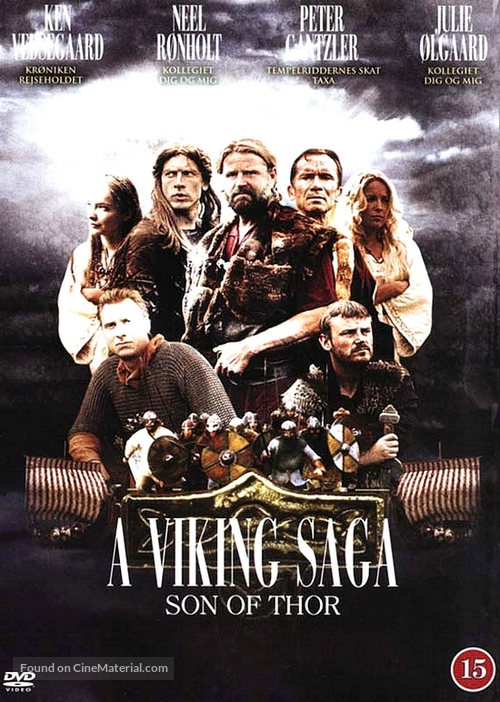 A Viking Saga - British Movie Cover