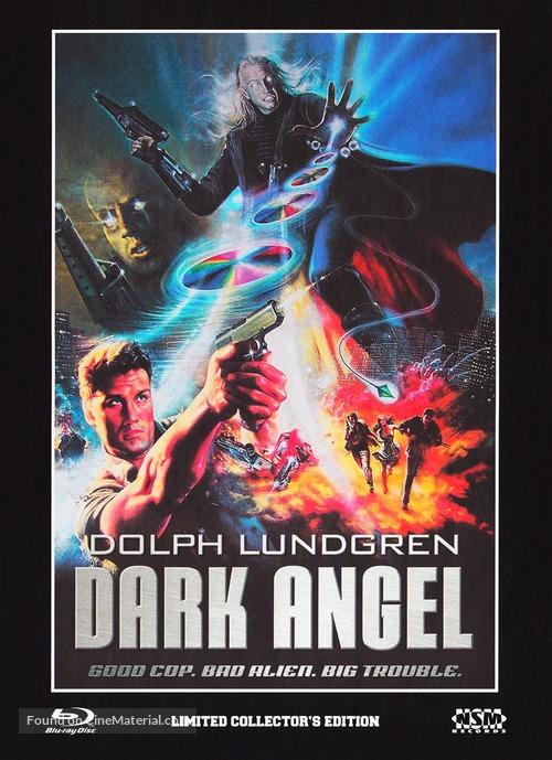 Dark Angel 1990 Austrian Blu Ray Movie Cover