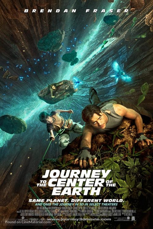 Journey to the Center of the Earth - Thai Movie Poster