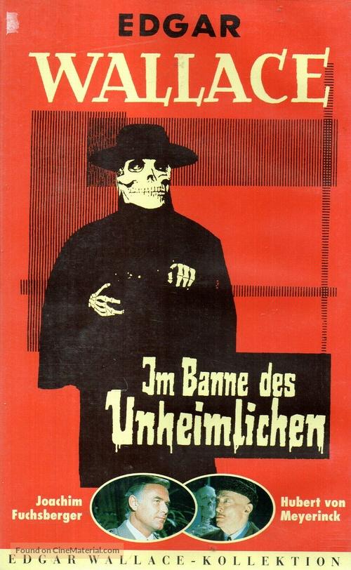Im Banne des Unheimlichen - German VHS movie cover