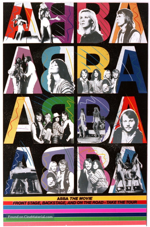 ABBA: The Movie - Movie Poster
