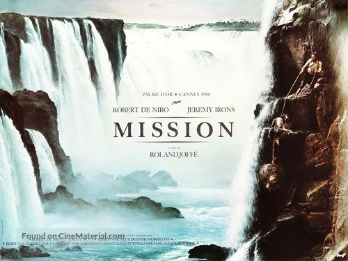 The Mission - French Movie Poster