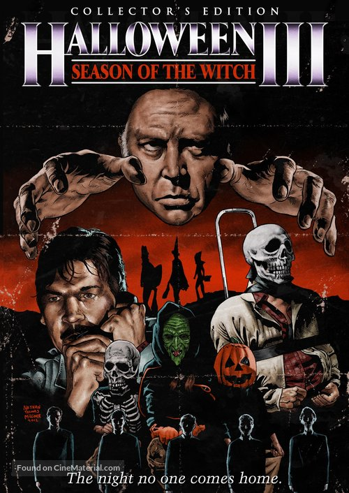 Halloween III: Season of the Witch - DVD movie cover