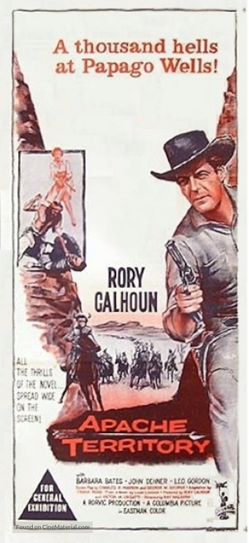 Apache Territory - Australian Movie Poster