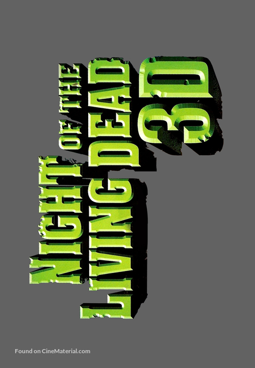 Night of the Living Dead 3D - Logo