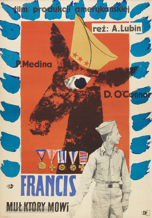 Francis - Polish Movie Poster
