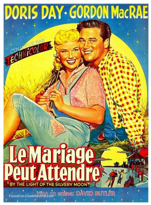 By the Light of the Silvery Moon - Belgian Movie Poster