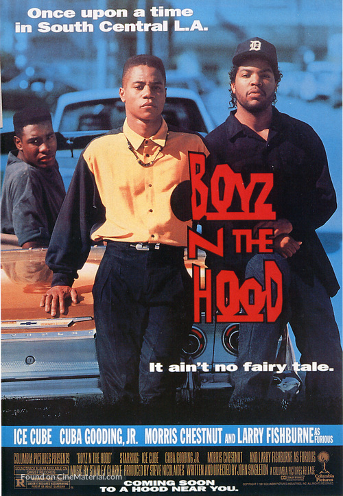 Boyz N The Hood - Movie Poster