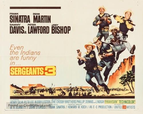 Sergeants 3 - Movie Poster