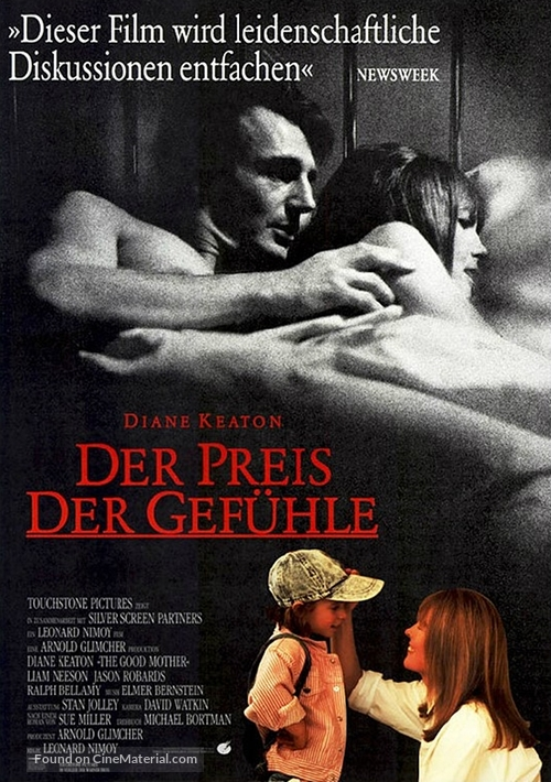 The Good Mother - German Movie Poster