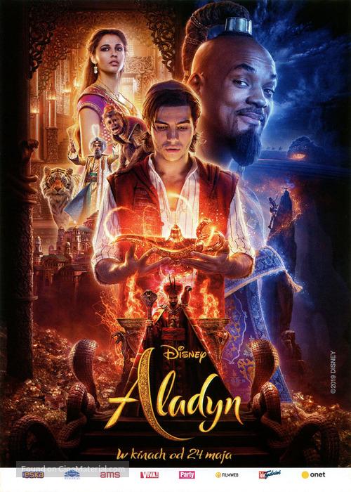 Aladdin - Polish Movie Poster