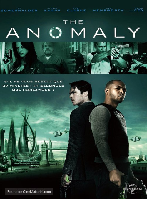 The Anomaly - French DVD movie cover