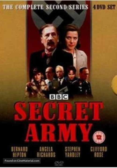 """Secret Army"" - British Movie Cover"